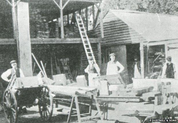 Durtnell's Builder's yard