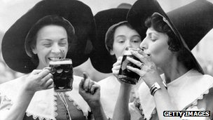 Ale wives at 1950 Festival of Britain