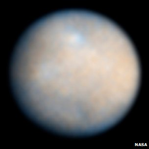 Ceres pictured by Hubble