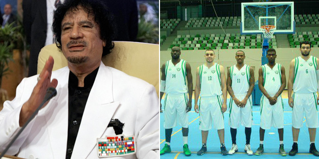 Gaddafi and al-Nassr team