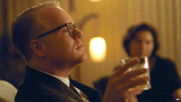 Philip Seymour Hoffman as Truman Capote