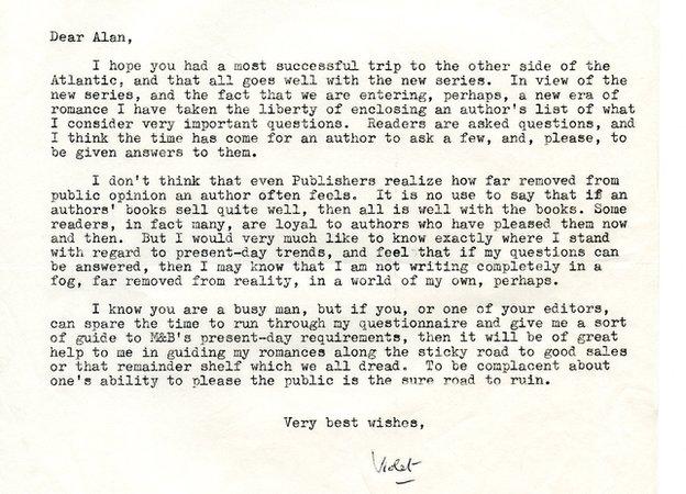 Winspear letter