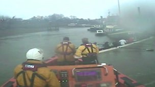 Rower rescue