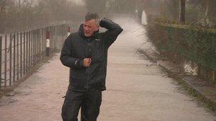 The BBC's Chris Eakin in Somerset