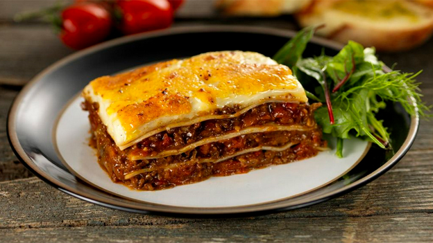I-Eat Foods' lasagne