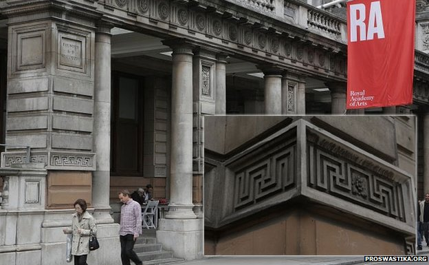 The Royal Academy of Arts at Burlington House in London