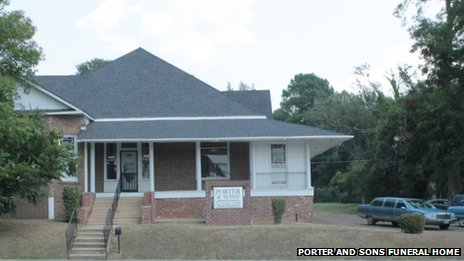 Porter and Sons Funeral Home in Lexington, Mississippi