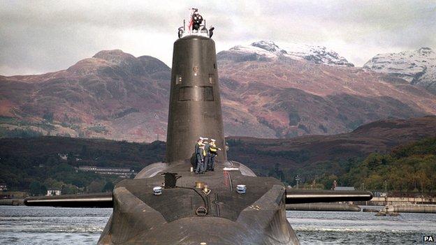 HMS Vanguard (file pic)