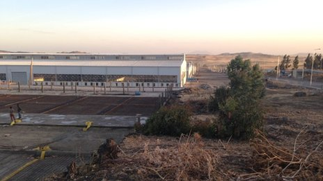 Development of a new industrial estate on the fringes of Addis Ababa