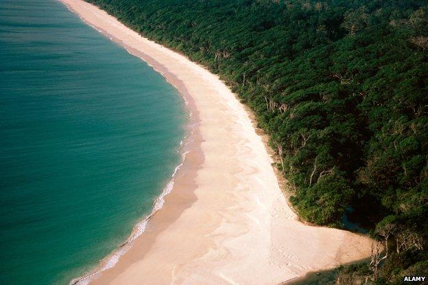 Remote Andaman Island