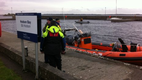 _73726118_martin Lough Ree: One man dies, another missing after boat sinks - BBC News