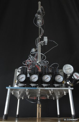 RoboClam testing apparatus