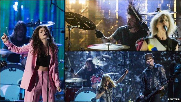 Nirvana se realizan en el Salón de la Fama del Rock and Roll