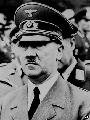 A 5 August 1941 photo of Adolf Hitler