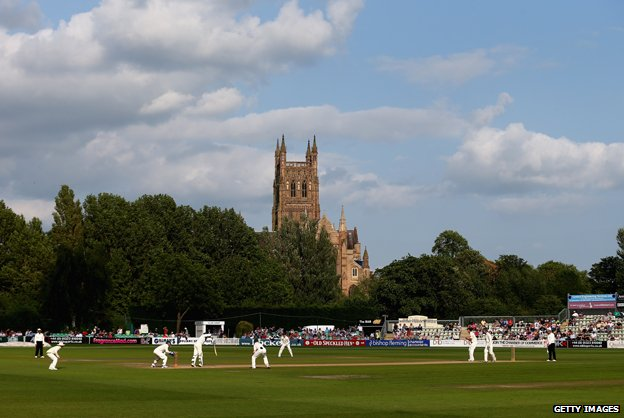 Worcestershire County cricket ground