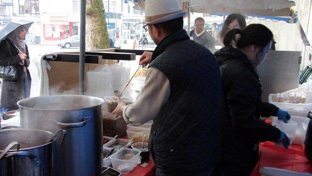 Chilli Daddy Sichuan street food stall
