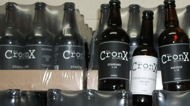 Cronx sells its beer in casks and bottles