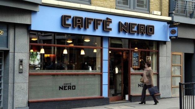 Caffe Nero cafe