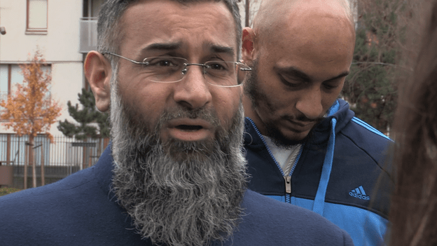 Ibrahim with Anjem Choudry