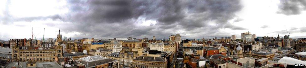 Glasgow panorama