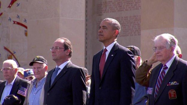 Barack Obama and Francois Hollande