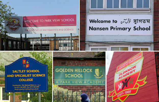 Schools involved in the latest Ofsted reports