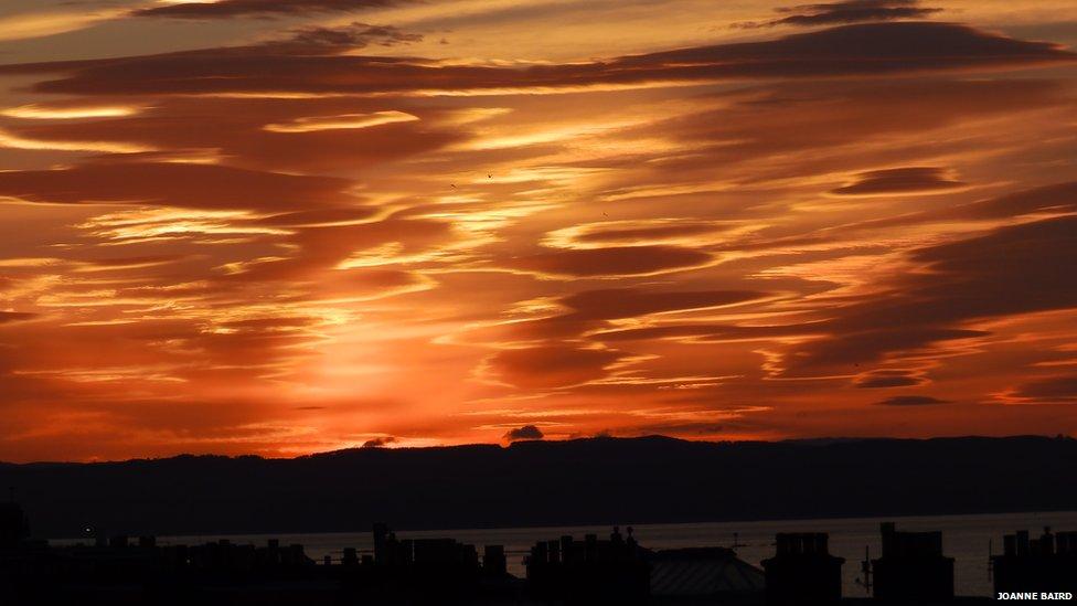 Clouds from Portobello, Edinburgh