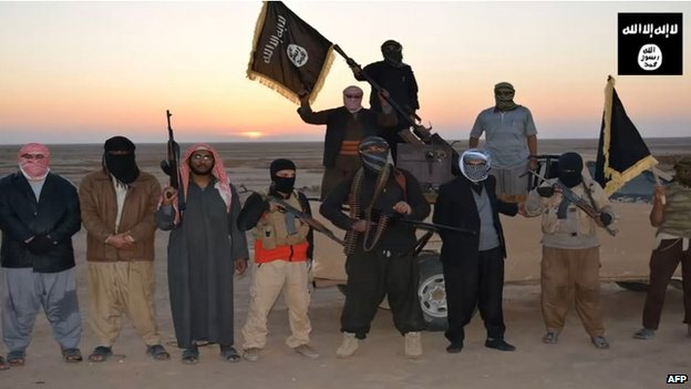 ISIS militants in Nineveh province (11 June 2014)