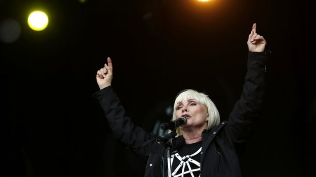 Blondie at Glastonbury