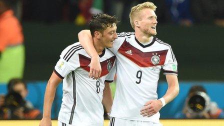 Jerman selamat tes besar identitasnya gelar Piala Dunia