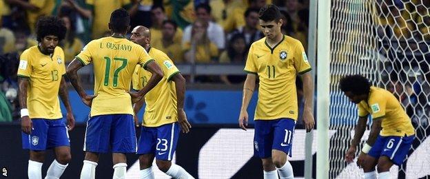 Brazil players