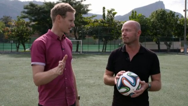 Dan Walker and Alan Shearer