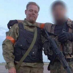 Mikael Skillt in Ukraine