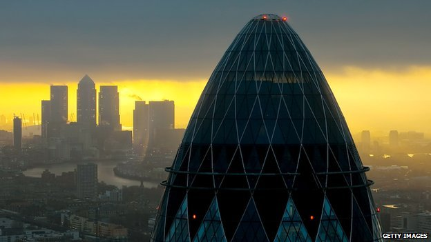 City of London and Gherkin