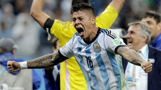 Marcos Rojo has played 28 times for Argentina since making his debut three years ago