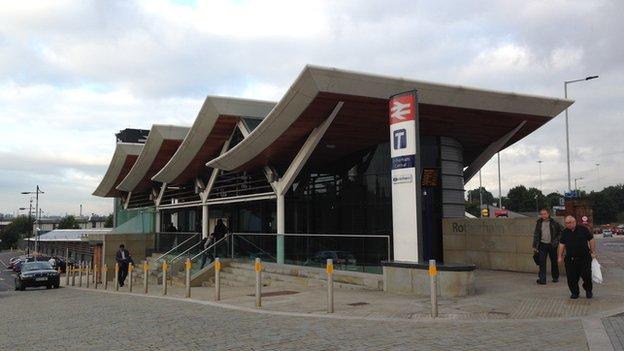 Rotherham Railway Station
