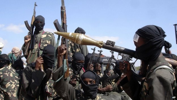Al-Shabab militants. File photo