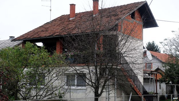 David Haines' home in Croatia