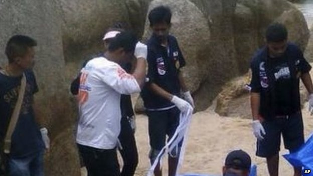 British tourists murdered in Thai Beach   ozara gossip