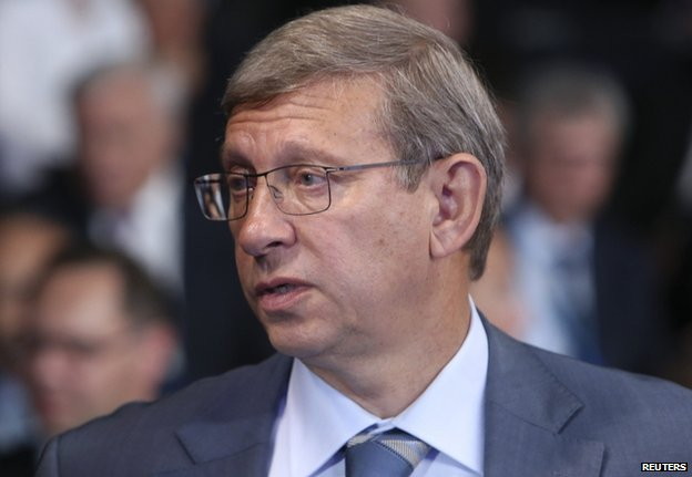 Vladimir Yevtushenkov  (file photo May 2014)