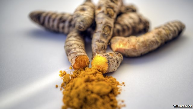 Picture of the spice turmeric