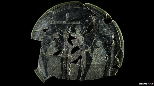 Ancient plate