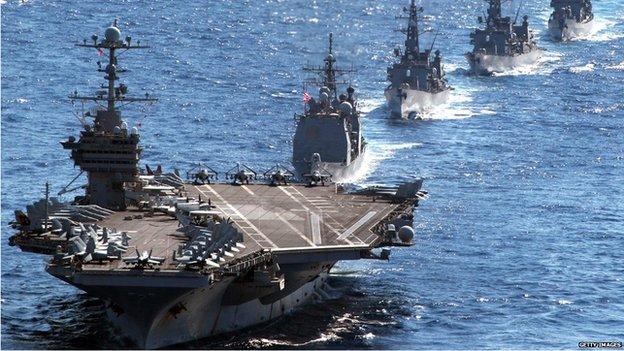 USS George Washington (file image)
