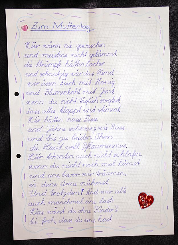 Swiss child labour letter