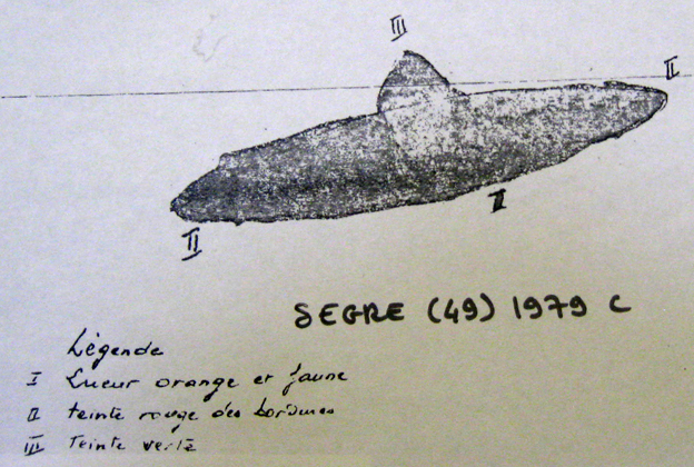 Drawing of Flying Saucer