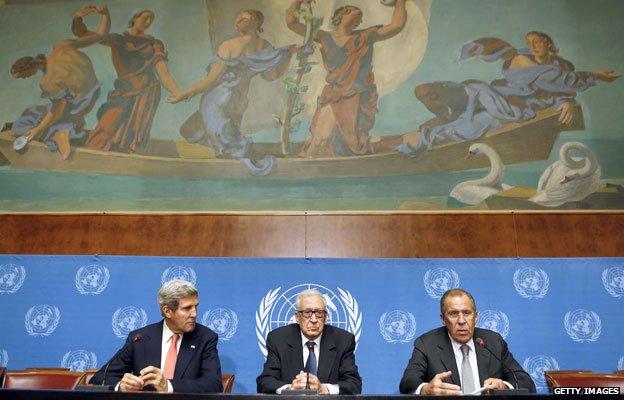 Peace talks on Syria