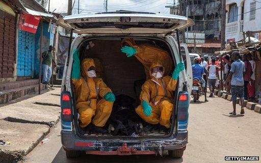 Ebola transportation