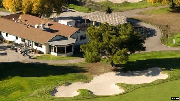 Moffett Federal Airfield golf course