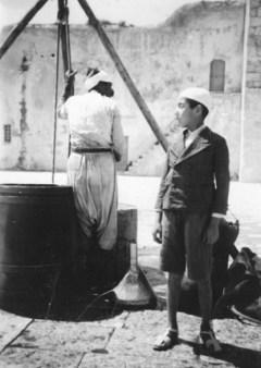Muhammad Munir Ansari as a boy, in about 1936