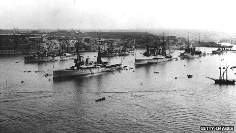 Grand Harbour in Malta